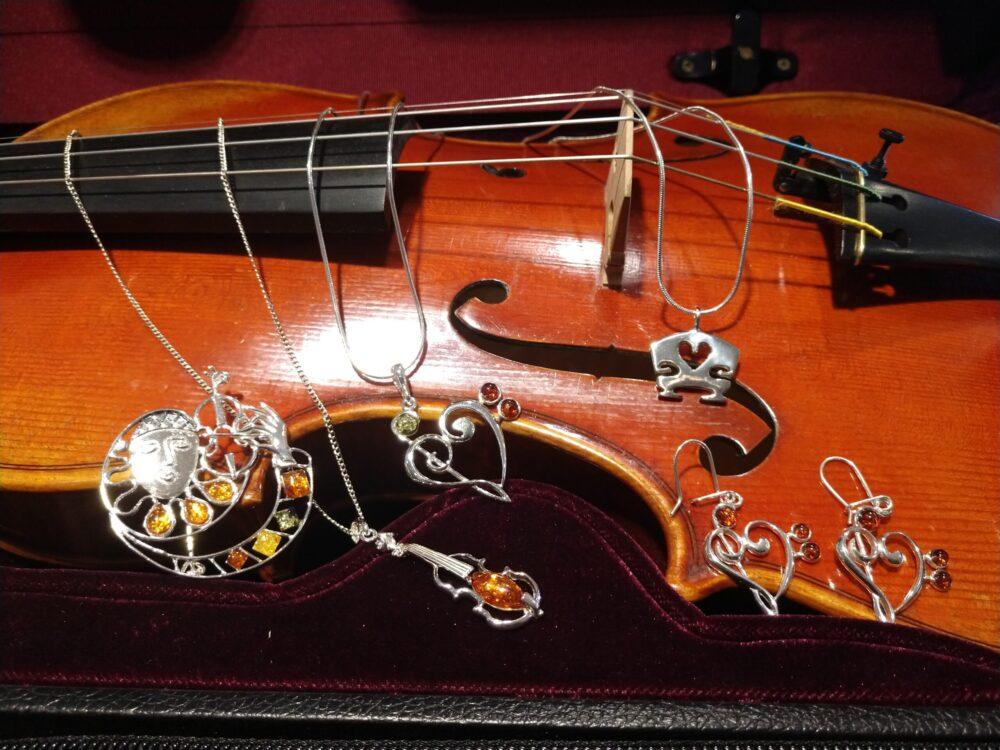 Violin Jewelry